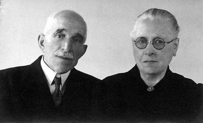 Gerrit Molenaar (1871-1955) en Adriana Los (1875-1948)