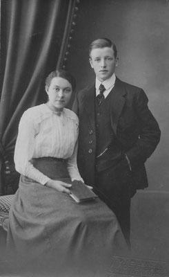 Dirkje Dina Molenaar (1898-1985) en Marinus de Klerk (1899-1981)