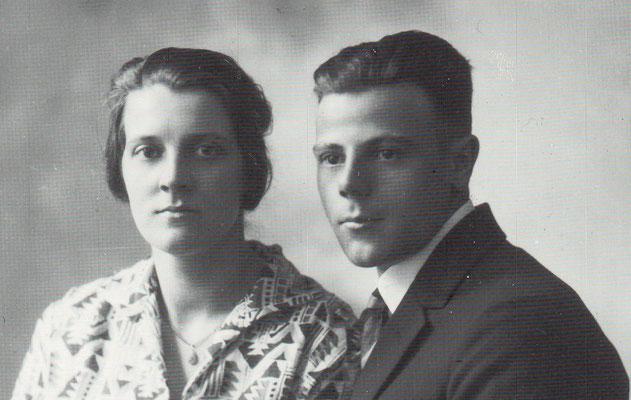 Hendrika van Merkerk (1904-1995) en Bastiaan Cornelis van Donselaar (1903-1953)