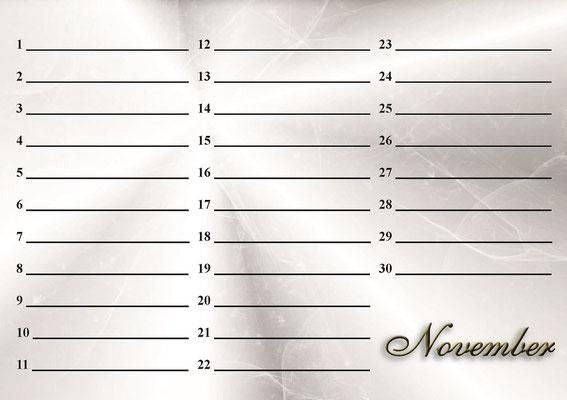 Katzen Geburtstags Kalender