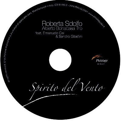 """Label """"Spirito del Vento"""" (2016 Philology Records)"""