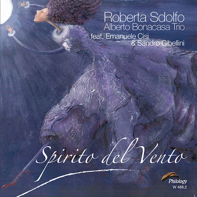 """Copertina """"Spirito del Vento"""" (2016 Philology Records)"""