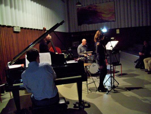Con il trio di Alberto Bonacasa al Conservatorio G. Verdi