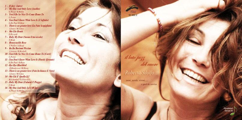 """Copertina """"Il Lato Jazz del Cuore"""" (2011 Philology Records)"""
