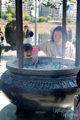 Tempelbezoekers, Tokyo