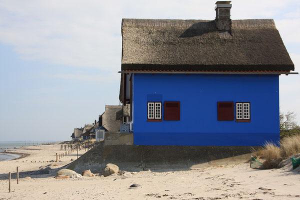 Ein Spaziergang zu den Strandvillen, ein absolutes MUSS