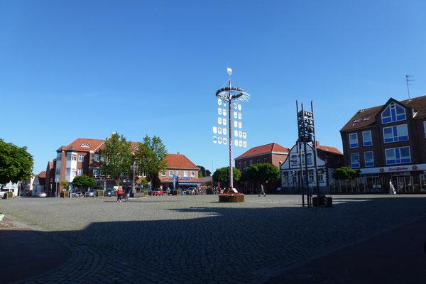 Der Marktplatz von Heiligenhafen