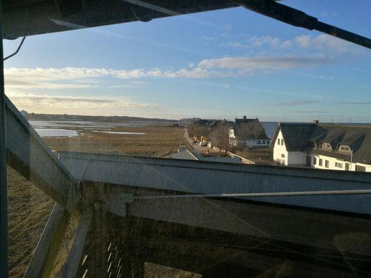 Blick vom Aussichtturm am Graswarder