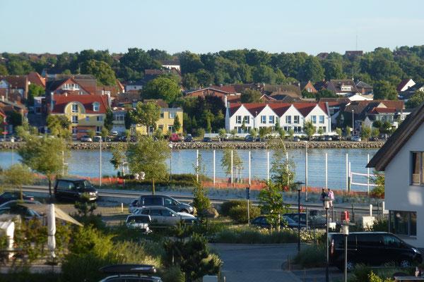 Blick aus der Wohnung auf den Binnensee