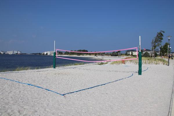 Beachvolleyball am Binnensee