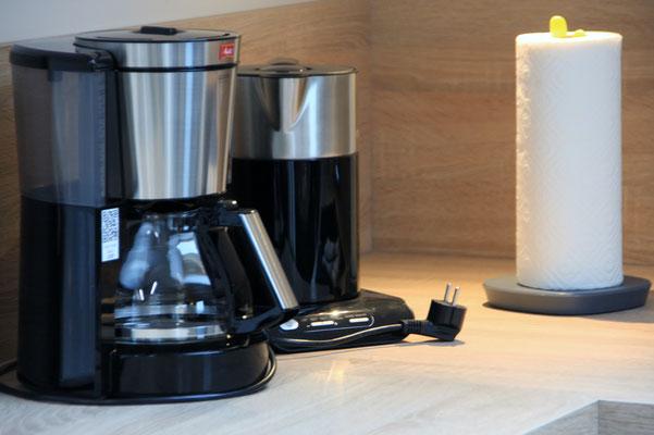 Kaffeemaschine, Wasserkocher, Waffeleisen, Eierkocher,...