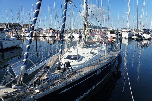 Einer der schönsten Yachthäfen Deutschlands