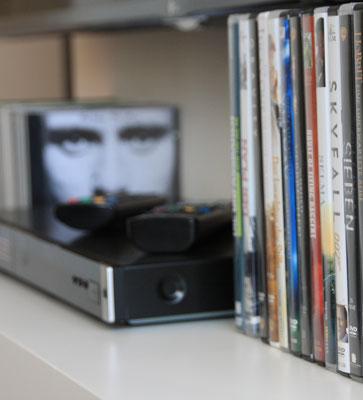 DVD und CD - Sammlung