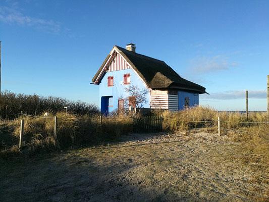 """Das """"Blaue Haus"""" vom Graswarder"""