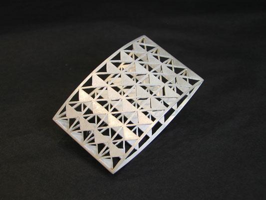 Brosche aus Silber von Traudl Kammermeier