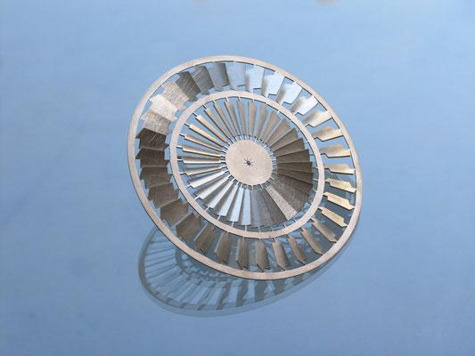 Objekt aus Silber von Traudl Kammermeier