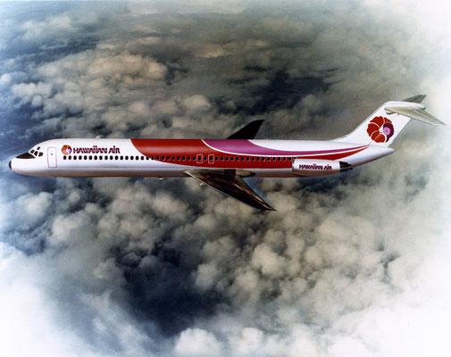 DC-9-50 im Farbkleid der Hawaiian Air/Courtesy: McDonnell Douglas