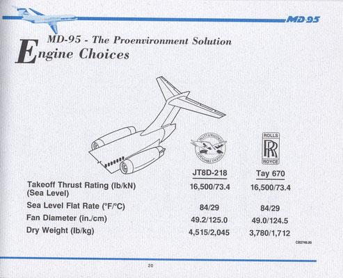 Das JT8D-218 wurde nie entwickelt/Courtesy: McDonnell Douglas/Privatarchiv MD-80.com