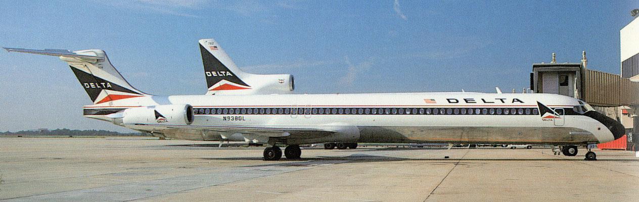 Mit 120 fabrikneu ausgelieferten Flugzeugen wurde Delta der Hauptnutzer von MD-88/Foto: Delta Air Lines