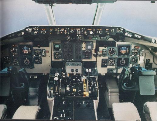 Das hier gezeigte Flugdeck orientiert sich stark an der MD-90/-80/Courtesy: McDonnell Douglas/Privatarchiv MD-80.com