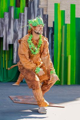 """""""Das Dschungelbuch"""" 2021 - Rolle: """"King Louie"""" - Gandersheimer Domfestspiele - Foto © Julia Lormis"""
