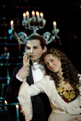 "Christian Alexander Müller als ""Phantom"" in PHANTOM DER OPER"