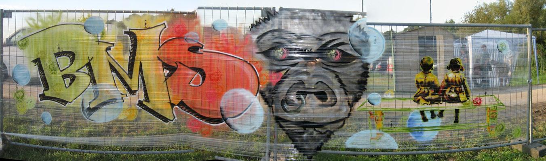 Reggae in Wulf; Gestaltung: Nea, Aim