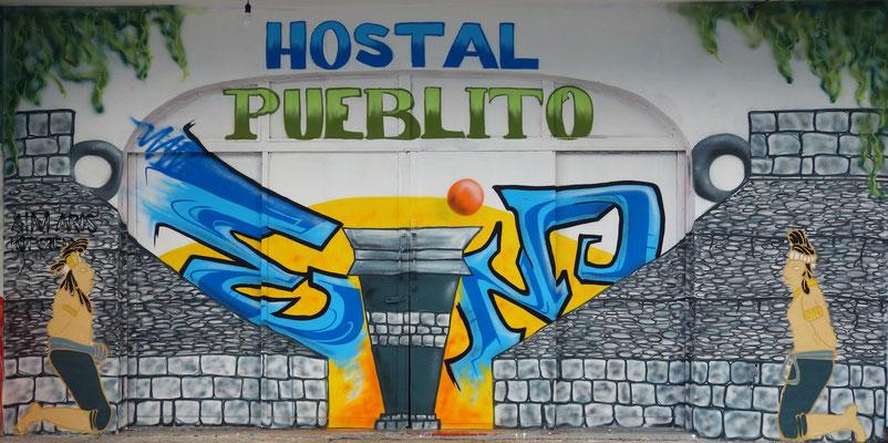 El Juego de bolas; Cancun Mexiko; Gestaltung: Aim