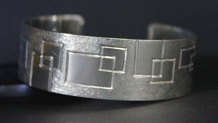 Armspange; 925/_ Silber