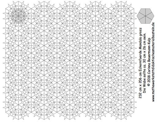 Mandala: Urlaubspostkarte von den Eulen aus Eckernfoerde!