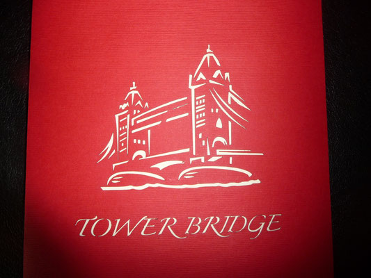 Die Tower Bridge fand ich auch gut.