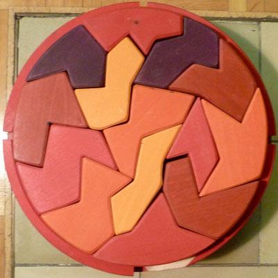 So sieht das neue Holzpuzzle in der Mathewerkstatt aus.