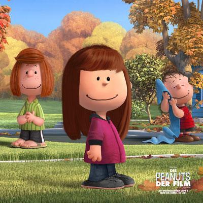 So würde ich im Peanutsfilm aussehen, so ganz stimmt meine Haarfrisur nicht.