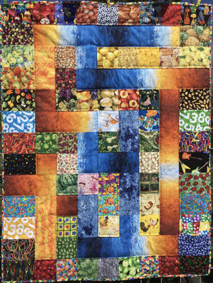 Labyrinth Krabbeldecke 100cm x 130cm für Sarahs Baby