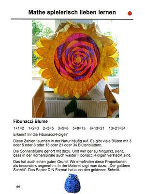 A Fibonacci Flower.