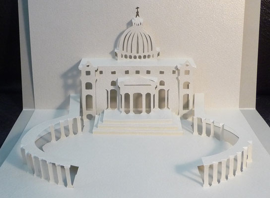 Kirigami Petersdom