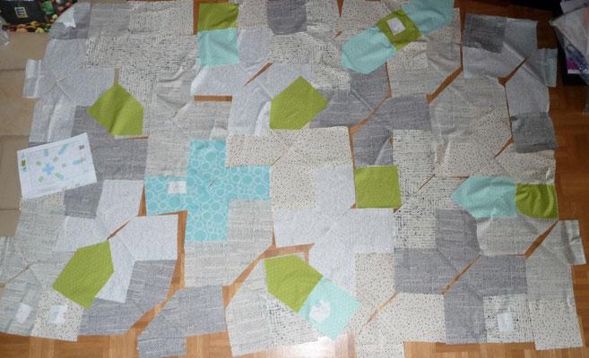 Die grünen und blauen Teilen könnten mehr Kontrast haben...