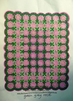Entwurf für den Yoga Quilt.