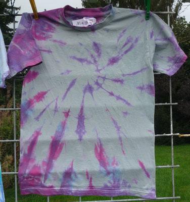Marieke S. (Das T-Shirt war ursprünglich rosa).