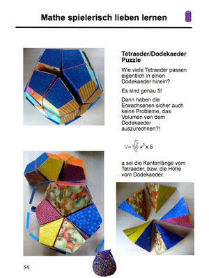 5 Tetrahedron built in a Dodecahedron puzzle