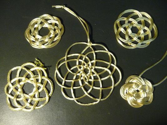 Different celtic knots - christmas ornaments decoration