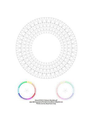 Tür 13 Advent201613 Zehneck Mandala.pdf  Vorbereitungen für den Dodekula-Kringel.