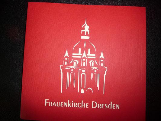 Der Frauenkirche in Dresden