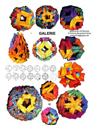 18 line models from polyhedron