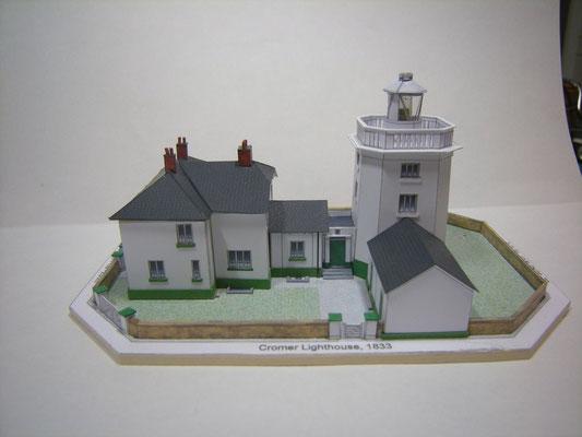 Cromer Lighthouse, papershipwright