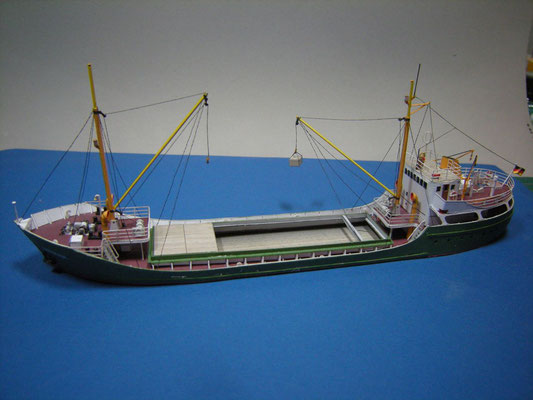 Küstenmototrschiff CHRISTINA, GK Verlag, 1:250