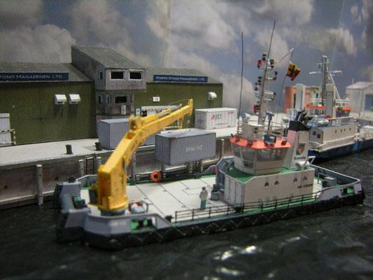 Kranschiff BKM 102, papershipwright