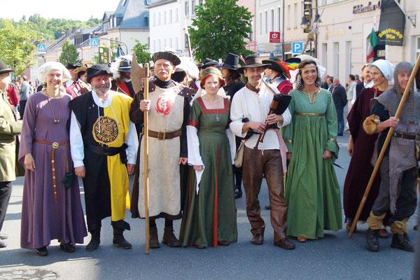 Die Hussiten kommen!  (Tourist-Information Hof)