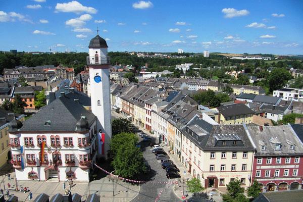Historische Stadtführung  (Tourist-Information Hof)