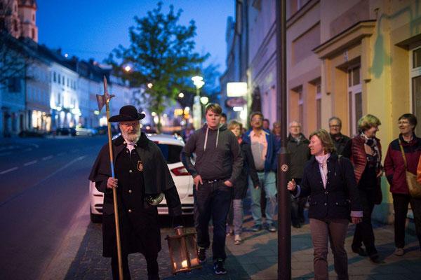 Nachtwächter-Rundgang  (Dieter Brandl)